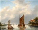 Gerardus Hendriks, On the ferry
