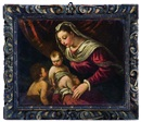 Follower Of Francesco Bassano, Madonna con Bambino e San Giovannino