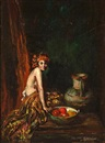 Indiana Gyberson, Woman with bowl of fruit