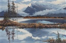 Gordon Rauch, Morning mood, Mt. Rundle