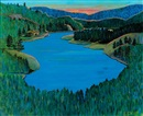 Colin S. Macdonald, Wilderness at sunset