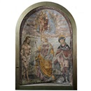 Italian School-Umbrian (16), Madonna and Child with St. Sebastian, St. Apollonia and St. James the Greater