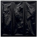 Loris Gréaud, Underworks black edit (triptych)