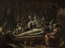 Francesco Zugno the Younger, The death of Pulcinello