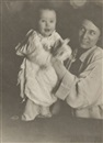Gertrude Kasebier, Untitled (Study of mother and child)