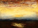 Albert Lorey Groll, Western sunset