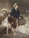 George Elgar Hicks, The children of Sir H. Hussey Vivian, Bt, M.P., later 1st Baron Swansea