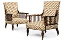 George Washington Jack, Saville armchairs (set of 2)