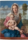 Giovanni Bellini, The Madonna and Child in a landscape