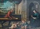 Workshop Of Benvenuto di Giovanni, The Holy Family