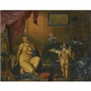 Adriaen Pietersz van de Venne, Venus at her toilet, or an allegory of vanity