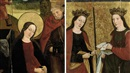 German School-Cologne (16), The Virgin and Saint Joseph (+ Two female saints, verso; 2 works)