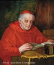 Theodor Recknagel, The cardinal in his study