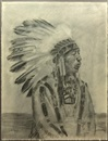 Gary D. Yazzie, Indian chief