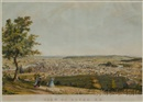 Jonathan Badger Bachelder, View of Dover, New Hampshire taken from Garrison Hill