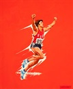 Mayo Olmstead, Bruce Jenner, Olympic decathlon winner (study for Wheaties)