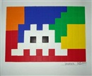 Invader, Home lego white