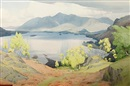 William Heaton Cooper, Derwent water from Shepherd's Crag