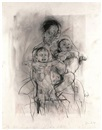 Jenny Saville, Mother and child (after the Leonardo cartoon)