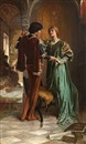 George Percy R. E. Jacomb-Hood, The betrothal