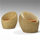 Isamu Kenmochi, Pair of lounge chairs