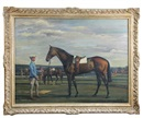 Richard John Munro Dupont, The racehorse light harvest, owned by captain Tim Forster's father