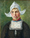 Oscar Miller, A portrait of a Dutch girl
