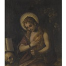 Attributed To Domenico Tintoretto, The Penitent Mary Magdalene