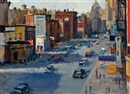 Alfred S. Mira, Seventh Avenue, Greenwich Village