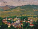 Corneliu Liuba, View of Valcea