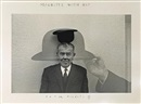 Duane Michals, Magritte with hat