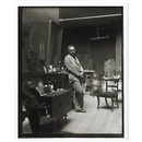 Thomas Eakins, Thomas Eakins in Chestnut Street studio