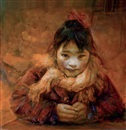 Liu Derun, Young girl