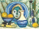 Arieh Allweil, Still life with mask