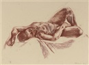 Nicola Hicks, Reclining nude