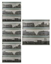 Nikolay Fiodorovich Khomoutetski, Every building on Ligovski Prospect, Leningrad, panoramic perspective