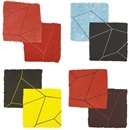 Mary Heilmann, Crackle suite (set of 4)