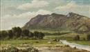 William Franklin Jackson, California landscape (Sutter buttes?)