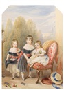Robert Dowling, The three eldest children of Frederich John Howard M.P. and his wife Lady Fanny Cavendish