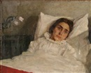 Johannes Cathrine Krebs, A woman in her bed