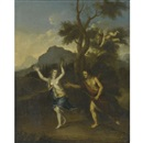 Follower Of Gerard Hoet the Elder, Apollo and Daphne