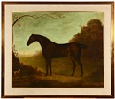 John Miles of Northleach, Honorable George Rice Trevor's periwinkle, horse portrait