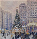 Mikhail Bobyshev, New Year tree on Manege square
