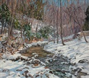Edward Willis Redfield, Woodland brook