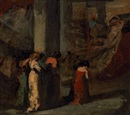 Thomas Eakins, Cathedral of Seville