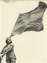 Walter Zadek, Girl with flag (+ 2 others; 3 works)