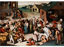 Circle Of Pieter Brueghel the Younger, Die Werke der Barmherzigkeit