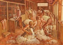 Louis Kahan, Shearing the rams