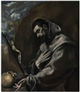 El Greco, Saint Francis of Assisi in meditation