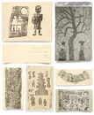 Park Soo-Keun, Christmas cards (various sizes; 6 works)